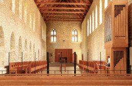 Inside view New Melleray chapel