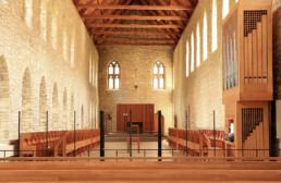 Inside view New Melleray chapel