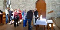 mass of remembrance at New Melleray Abbey