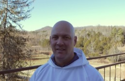 Postulant Timothy at the Abbey of Gethsemani
