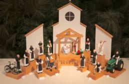 mepkin abbey Crèche festival