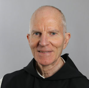 portrait of Dom Vincent Rogers, Abbot of St. Joseph's Abbey, in Spencer, Mass.