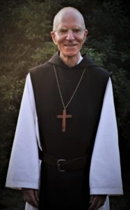 Abbatial Blessing of Dom Vincent, new abbot of St. Joseph's Abbey: portrait of Dom Vincent with pectoral cross