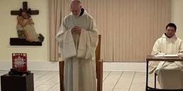 Fr. Paul Mark Schwan in Chapter Room