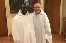 Jophan takes the monastic habit