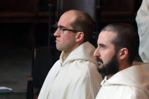 two monks look forward