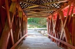 Mepkin Abbey covered bridge